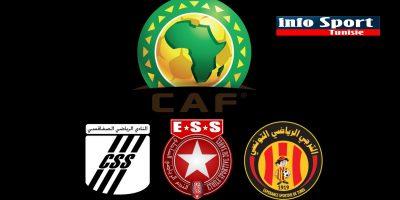 البرنامج الكامل لمباريات الأندية التونسي في المسابقات الافريقية نهاية الأسبوع الجاري