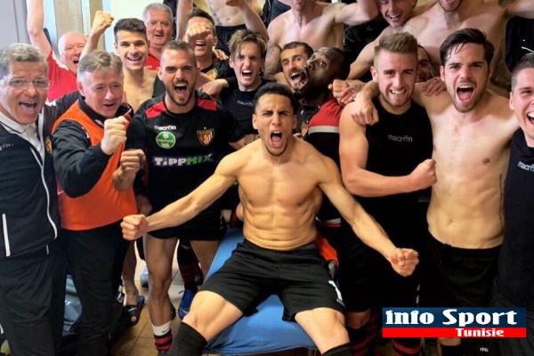 """أنيس بن حتيرة يقود ناديه """"Budapest Honvéd"""" الى نهائي كأس المجر …"""