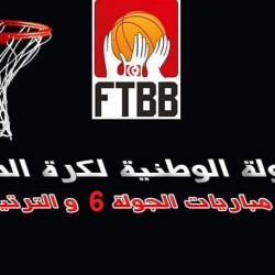 البطولة الوطنية لكرة السلة : نتائج مباريات الجولة 6 مع الترتيب ...